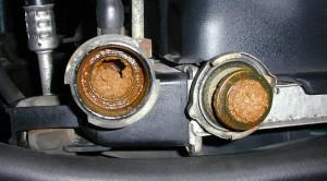 radiador-coche-obstruido